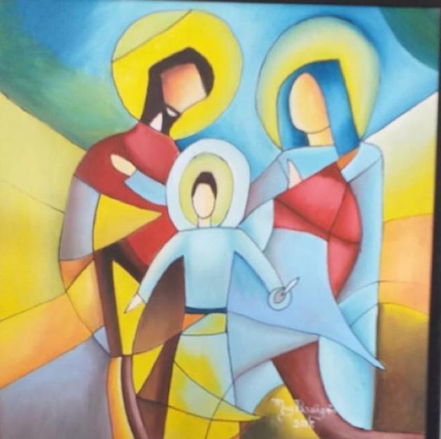 A Sagrada Família - Magnólia Perdigão