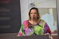 Aline Couto agradece apoio do poder executivo
