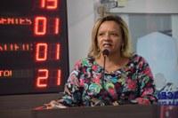 Aline Couto fala sobre dificuldades enfrentadas pela Liga do Câncer de Mossoró