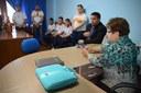 Estudantes visitam Câmara Municipal para entender o funcionamento do Poder Legislativo