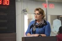 Sandra defende união por autonomia da Uern