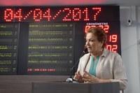 Sandra lidera debate sobre preservação da caatinga