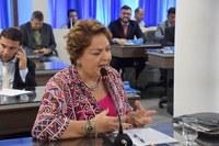 Sandra pede elucidação de crimes contra mulher