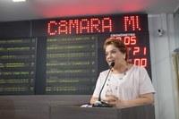 Sandra Rosado defende debate dos grandes temas de Mossoró