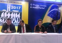 Sandra Rosado destaca em Brasília importância do vereador