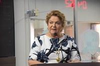 Sandra Rosado fala sobre visita à Brasília