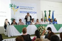 Vereadores participam da abertura da X Conferencia Municipal da Assistência Social