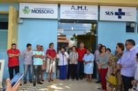 Vereadores participam da reabertura de Ambulatório Materno Infantil