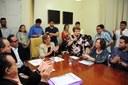 Vereadores participam da sanção da Lei da Secretaria de Cultura
