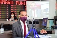 Alex do Frango volta a comentar pedido de explicações sobre recursos do Finisa