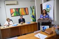Aline Couto agradece apoio da Assembleia de Deus em projeto social no Barrocas