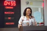 Aline Couto alerta para problemas no Hospital Tarcísio Maia