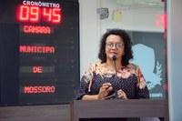 Aline Couto defende melhoria na infraestrutura da Caern