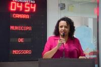 Aline Couto destaca empenho de órgãos públicos para solucionar problemas na cidade