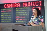 Aline Couto pede melhor abastecimento na zona rural