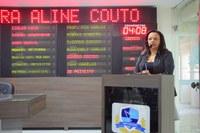 Aline Couto pede melhor assistência à saúde no Três Vinténs