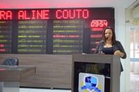 Aline Couto registra esforço para melhoria de serviços públicos