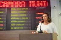 Aline Couto reitera pleito em favor  de mercados públicos