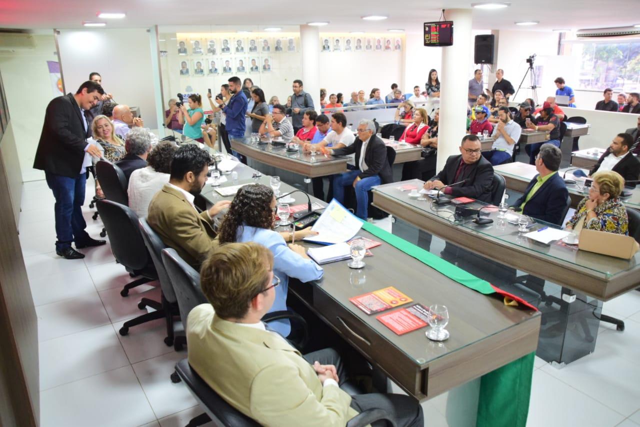 Audiência na Câmara Municipal debate consequências da reforma da previdência