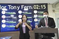 Cabo Tony Fernandes apresenta lei que veta nomeação de condenados pela Lei Maria da Penha