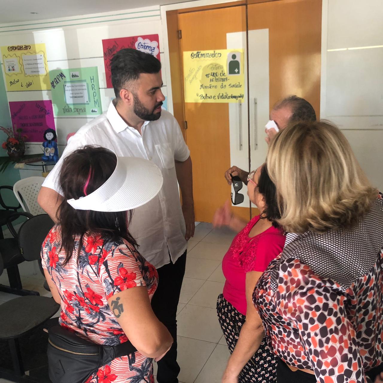 Câmara apoia mobilização de pacientes ostomizados em Mossoró