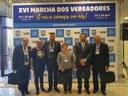Câmara de Mossoró é representada na XVI Marcha dos Vereadores