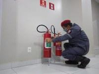 Câmara de Mossoró reforça sistema antincêndio