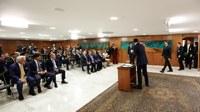 Câmara participa de assinatura de decreto pró-indústria salineira