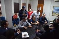 Câmara recebe pleitos da Guarda Municipal de Mossoró