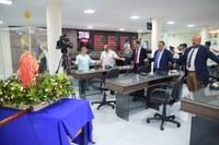 Câmara recebe visita da imagem de Santa Luzia