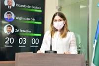 Carmen Júlia reforça importância na participação do Outubro Rosa