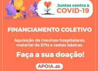 Covid-19: Câmara apoia campanha para compra insumos