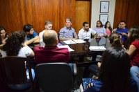Estudantes de medicina da UERN visitam Comissão de Saúde da Câmara