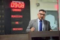 Francisco Carlos defende financiamento solicitado pela Prefeitura de Mossoró