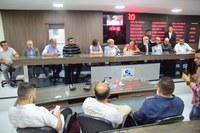 Governadora assegura apoio para ampliar uso de base da PRF