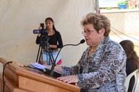 Izabel Montenegro agradece Escola Francisco de Assis Batista