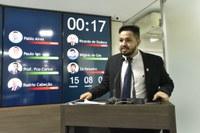 Vereador Lucas das Malhas defende Casa da Mulher Brasileira