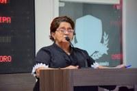 Maria das Malhas ressalta reforma de creche no Papoco