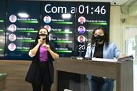 Marleide Cunha fala sobre conferência de educação e cobra correção no PPA