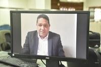 Omar Nogueira defende auxílio estadual para trabalhadores e vacinação dos agentes de segurança