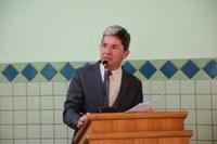 Ozaniel agradece por Câmara Cidadã no bairro Santo Antônio