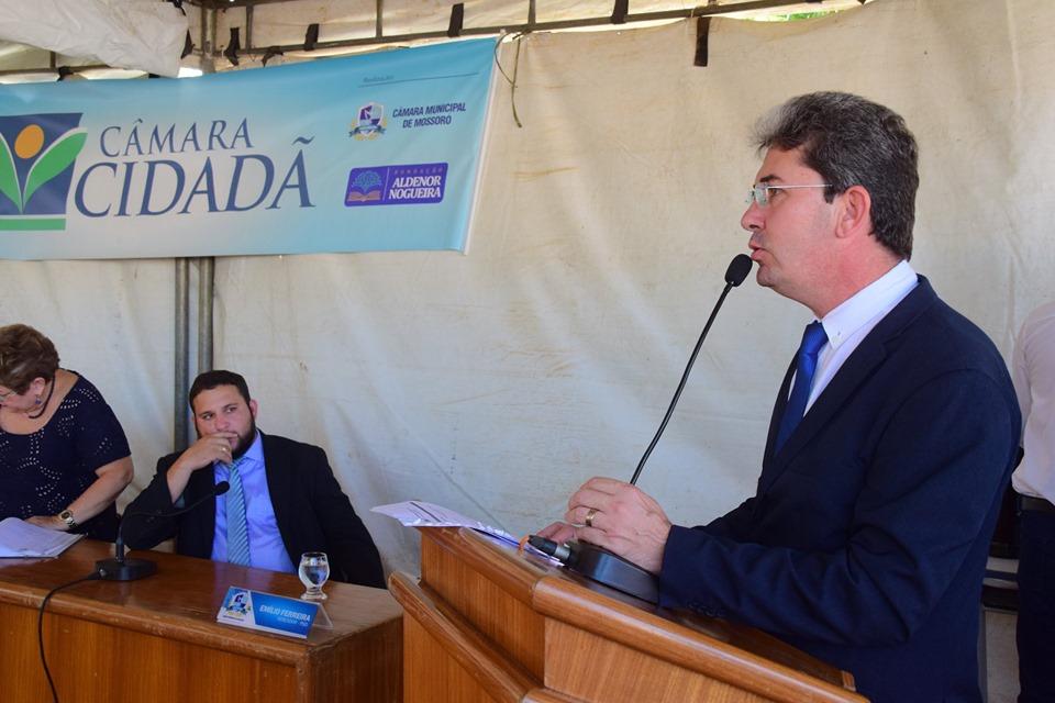 Ozaniel Mesquita destaca emendas de sua autoria à LDO
