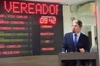 Ozaniel Mesquita é contra vetos da Prefeitura a projetos da Câmara