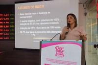 Palestra na Câmara alerta para câncer de colo de útero