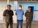 Paulo Igo aplaude Tiro de Guerra por campanha solidária