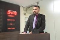 """Petras Vinicius defende projeto """"Faixa Liberada"""" para atividade esportiva"""