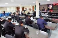 Plenário encaminha 98 matérias na primeira sessão de 2020