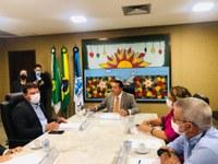Presidente Lawrence Amorim firma parceria entre Câmara e Assembleia Legislativa