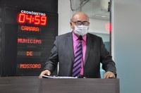 Raério Araújo reclama da inauguração de obras inacabadas