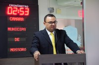 Rondinelli Carlos defende porte de arma para guarda municipal